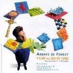 Expo à l ' Abbaye de Forest en 1998 .