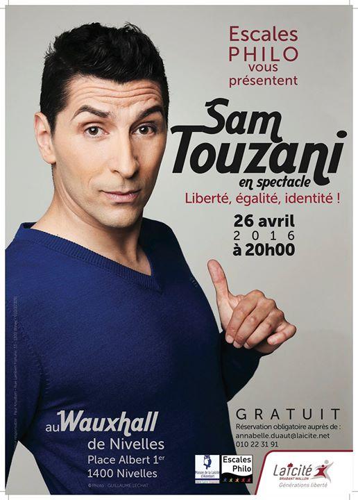 """""""Liberté, Egalité, Identité"""" de Sam Touzani"""